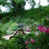 Large rear garden in Hampstead house