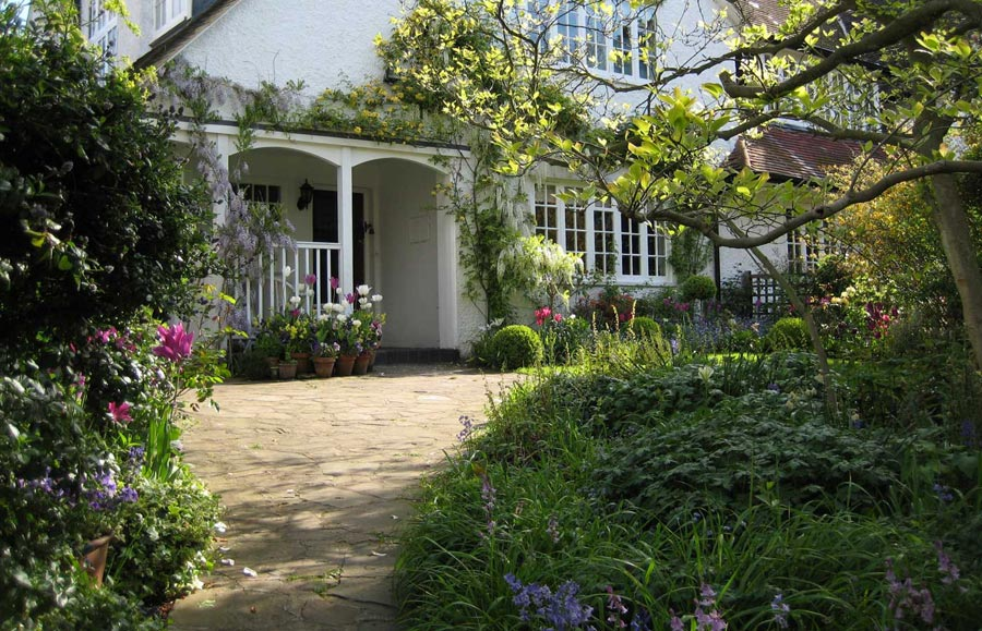 Edwardian Garden Design